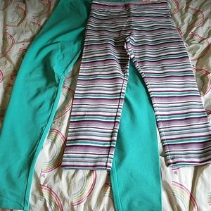 Bundle of tea collection leggings. Brand new!